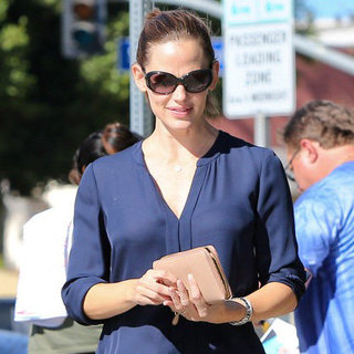 Jennifer Garner at Tavern Restaurant in LA