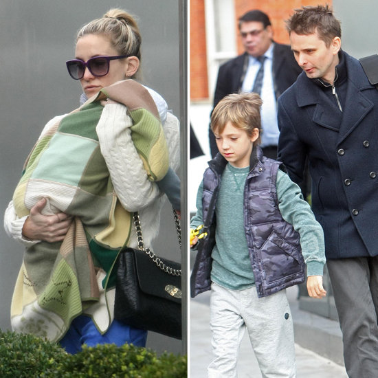 Kate Hudson and Matthew Bellamy Swing Through London With the Kids