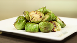 Maple Miso Brussels Sprouts