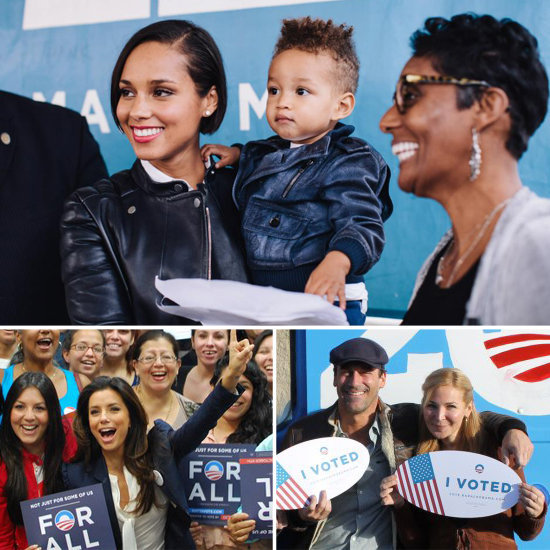Obama's Celebrity Supporters Use Star Power to Get Out Vote
