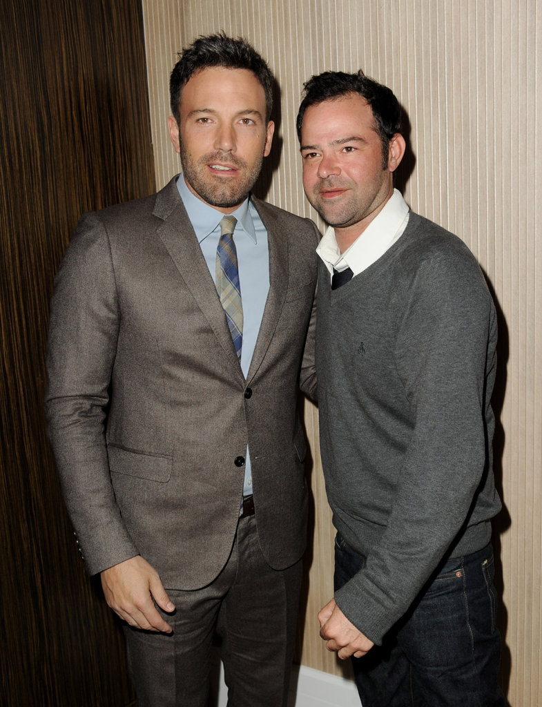 Ben Affleck Celebrates Argo's Cast and Their Winning Box Office Weekend