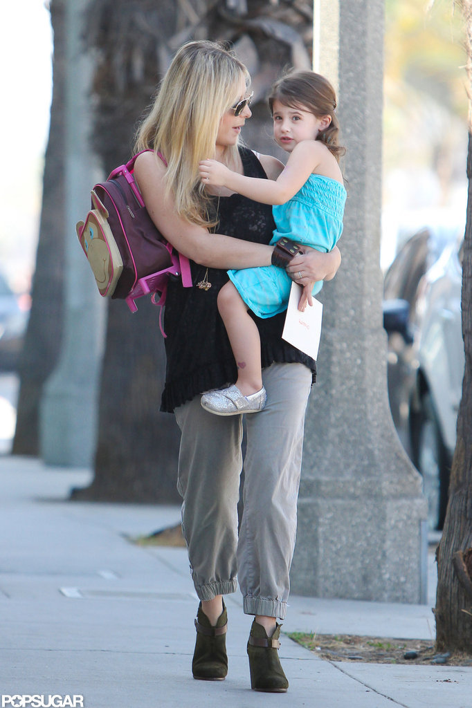 Sarah Michelle Gellar chatted with Charlotte Prinze in LA.