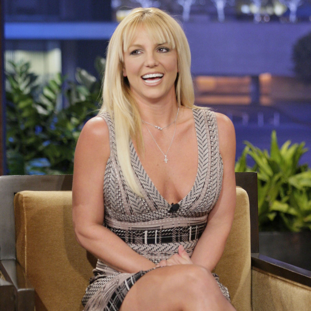 Britney Spears on The Tonight Show With Jay Leno ...