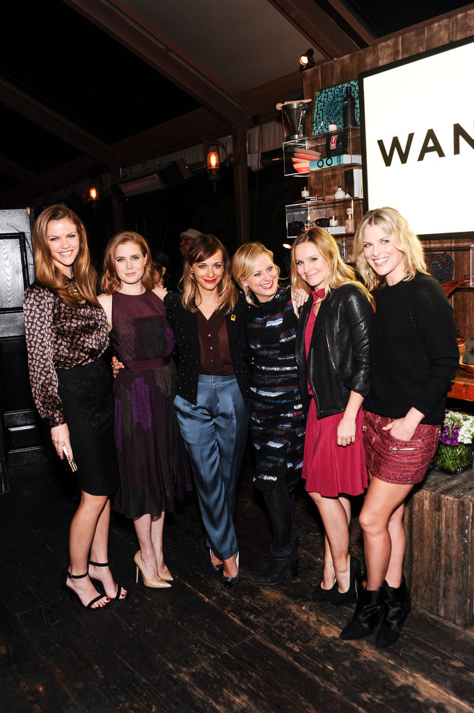 Brooklyn Decker, Amy Adams, Rashida Jones, Amy Poehler, Kristen Bell, and Ali Larter attended the Wantful: The Art of Giving event at Eveleigh in LA.