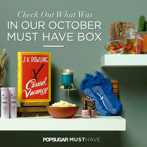 October PopSugar Must Have Box Inside Contents