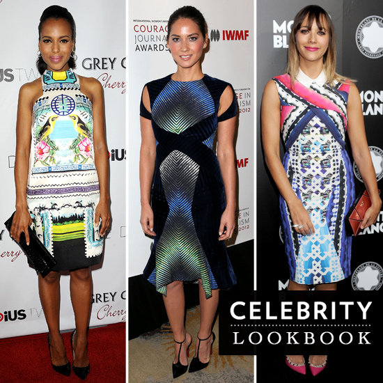 A Month of Bold, Digital Print Dresses — See How the Stars Wore Them