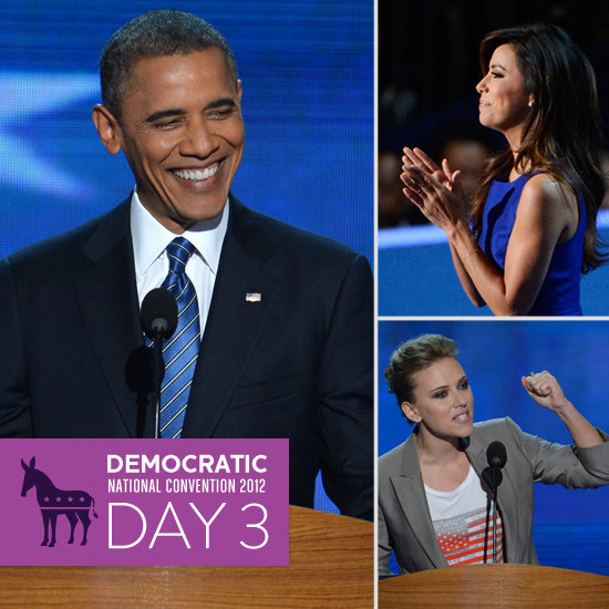Day 3 on the Scene at the DNC: Obama Accepts With Help From Famous Friends