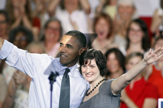Sandra Fluke Disses Mitt Romney For Not Standing Up For Women