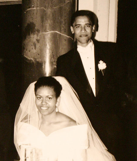 "Michelle Obama on Barack and Their Anniversary: ""He's the Same Man I Fell in Love With"""