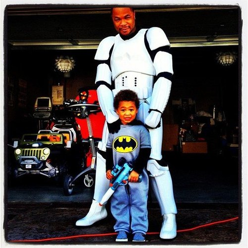 Xzibit modeled an elaborate Star Wars costume. Source: Instagram user xzibit