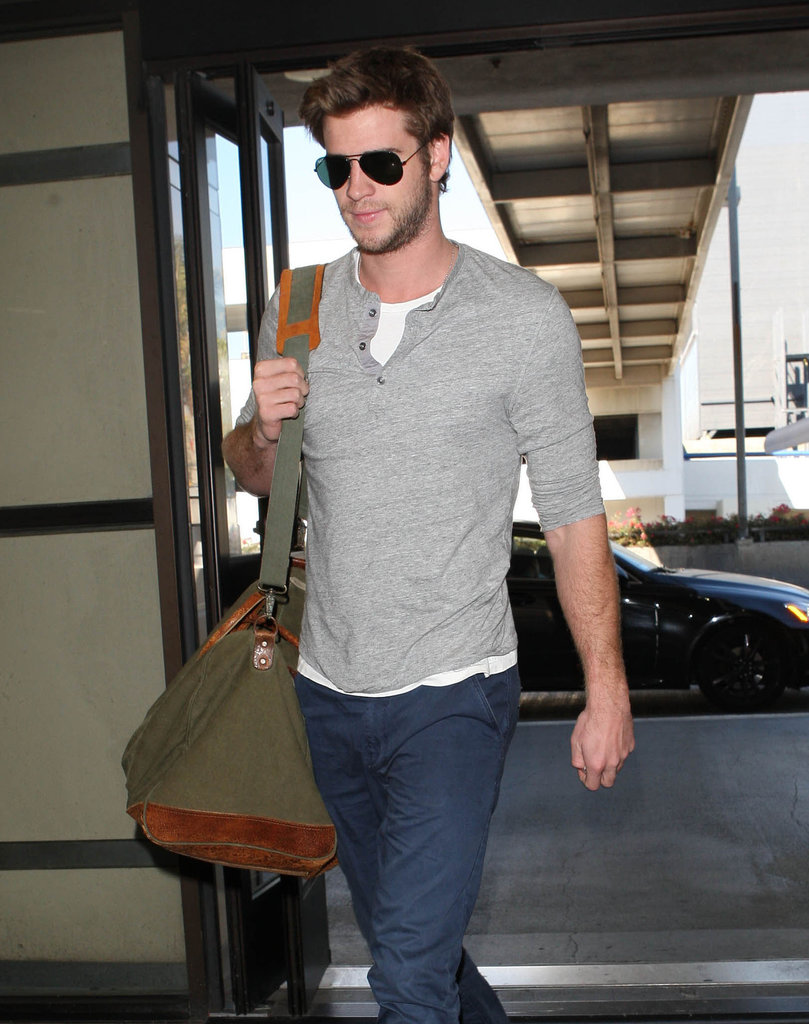 Liam Hemsworth was in LA.