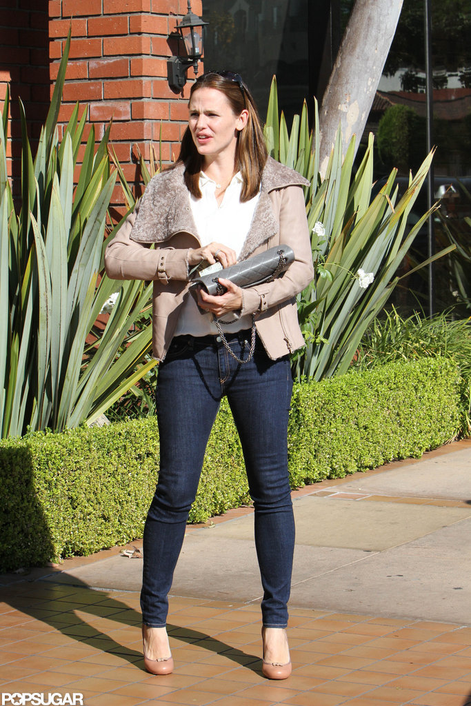 Jennifer Garner stepped out in jeans and a jacket in LA.