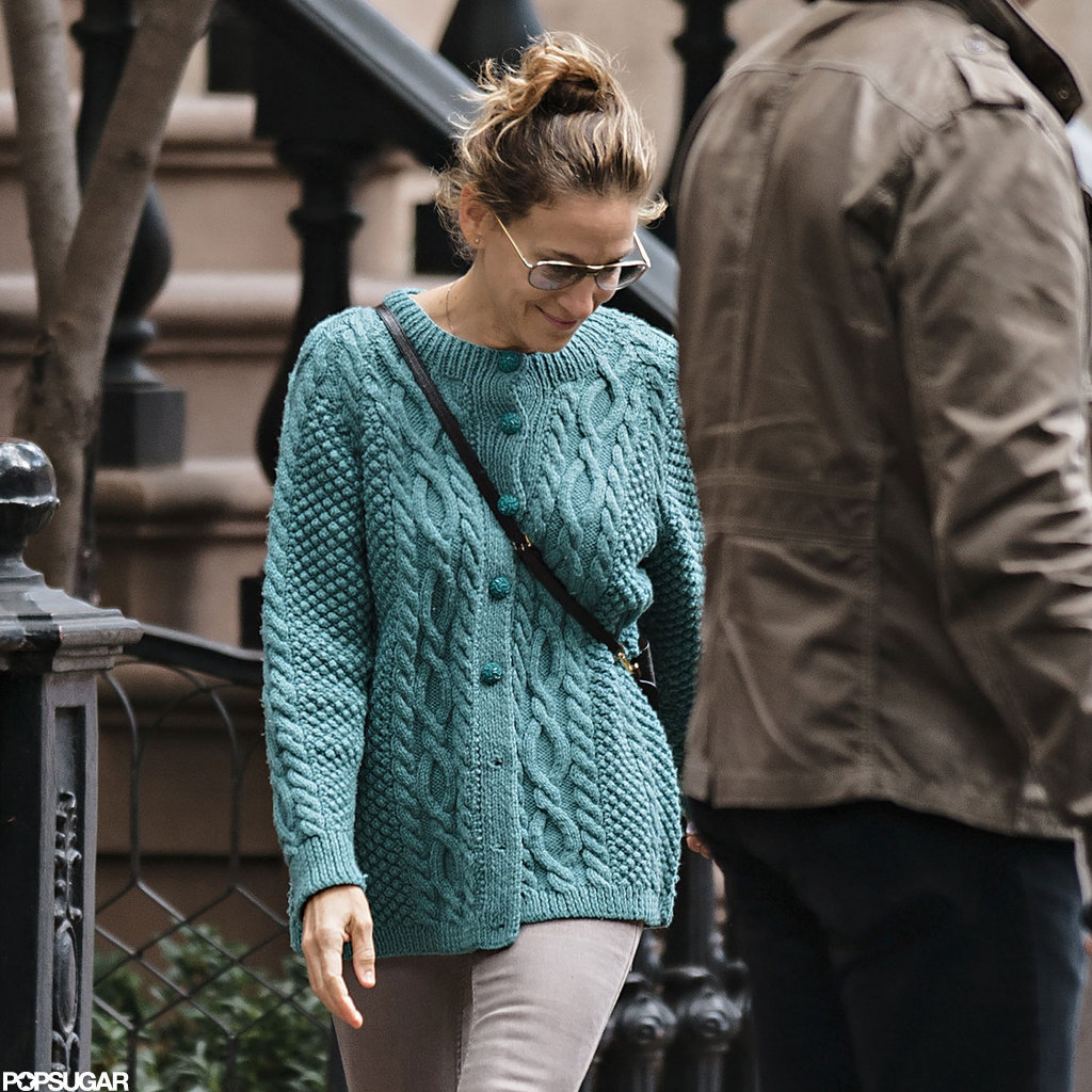 Sarah Jessica Parker Heads Home Post-Sandy