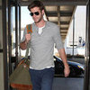 Liam Hemsworth Leaves LA | Pictures