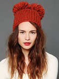 Double your pom fun with this adorable Made of Me Double Pom Pom Beanie ($38).
