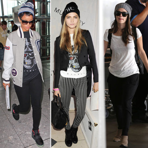 Best Winter Hats Worn by Celebrities | Fall 2012