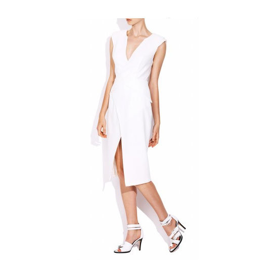 I'm a huge Watson x Watson fan following my recent purchase of their perfect cropped leather pants, but I also fell hard for this white dress. It's plain but very sexy; perfect for Derby Day. — Alison, BellaSugar editor Dress, $550, Watson X Watson at The Dreamery