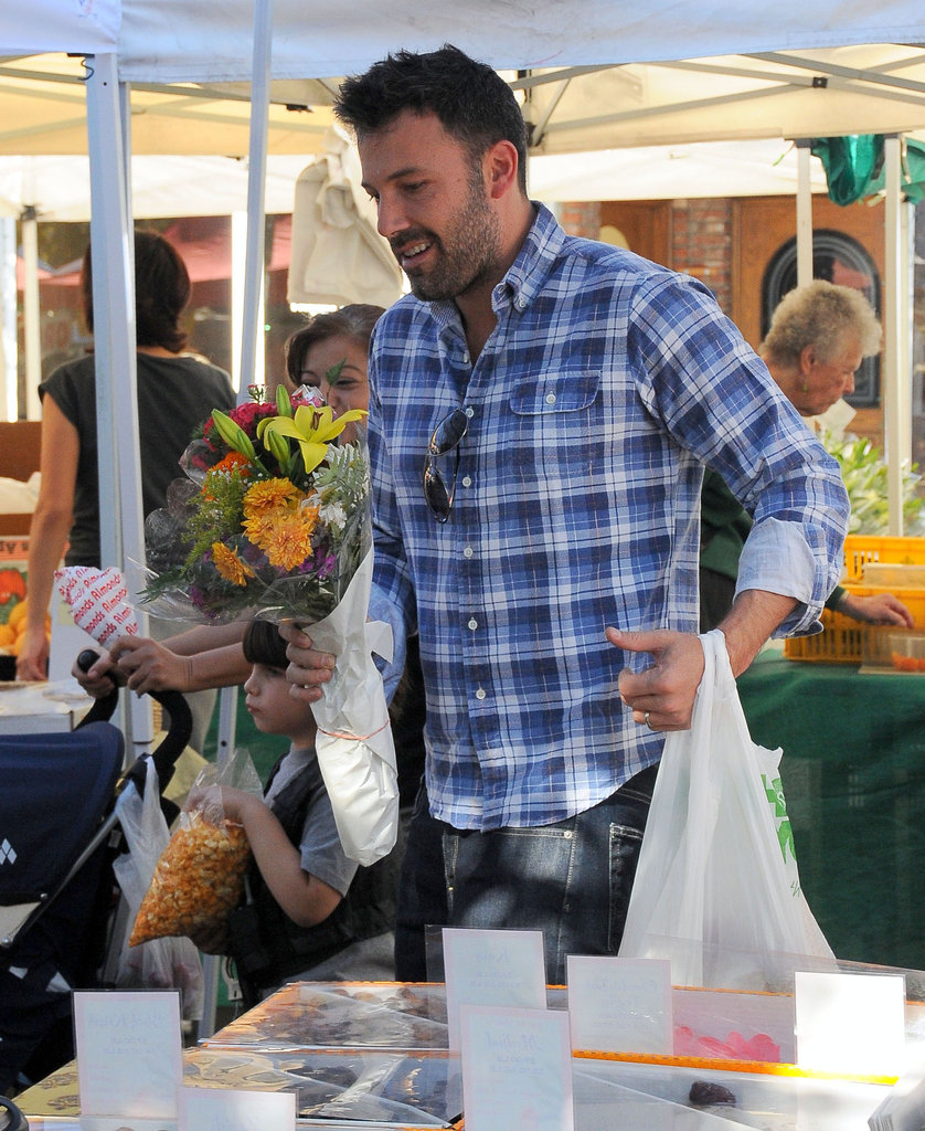 Ben Affleck Hits the Market in California and Gets Political in Massachusetts