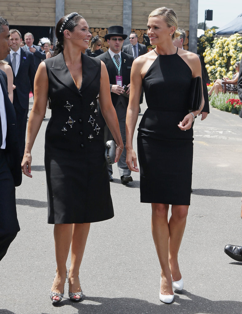 Erica Packer and Sarah Murdoch.
