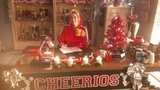 While the rest of the country celebrated Halloween, Jane Lynch showed off Glee's Christmas set. Source: Twitter user janemarielynch