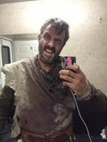 David Arquette shared a picture of his look on the set of Orion. Source: Twitter user davidarquette