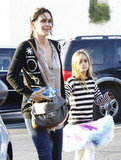 Courteney Cox and Coco Arquette went shopping.