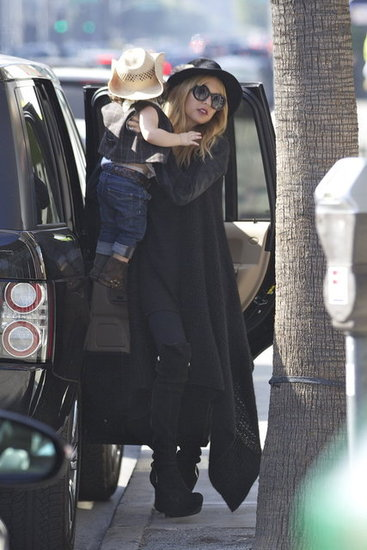 Rachel Zoe gave Skyler Berman a lift out of the car.