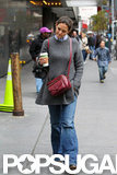 Katie Holmes headed out in NYC.