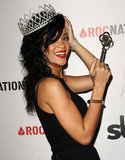 Rihanna held a key to West Hollywood.