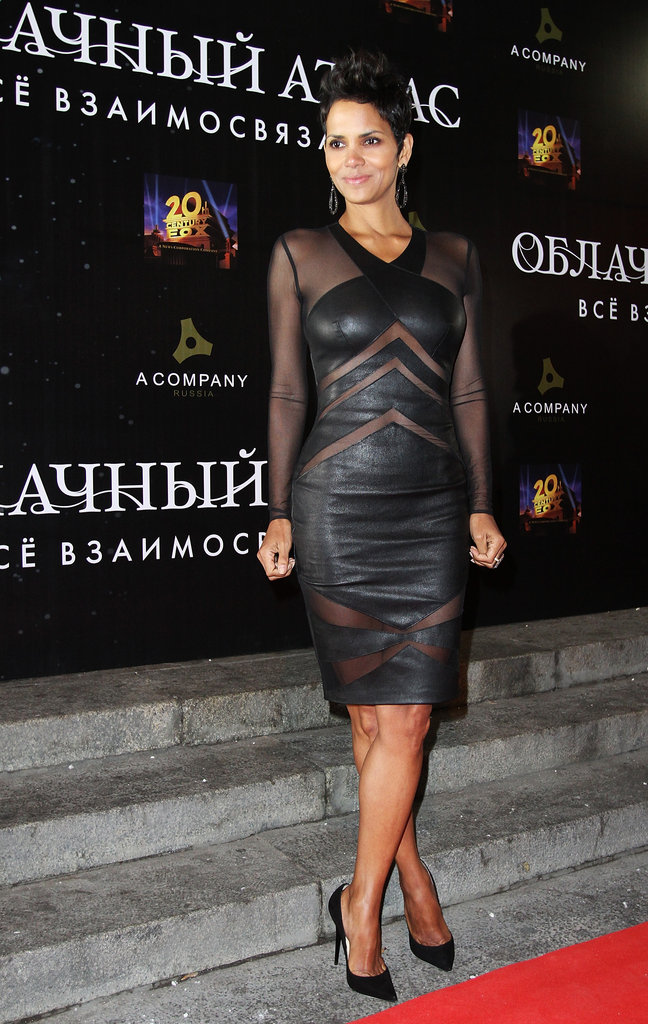 Halle Berry headed to Moscow for a Cloud Atlas premiere.