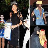 Rihanna Is Crowned Halloween Queen at Her Spooky Bash