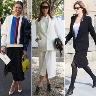 How to Wear Big Sweaters With Skirts | Fall 2012