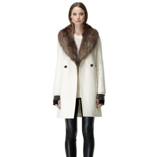 Aside from the fact that I'm going to have to try extra hard to avoid spills and stains, this Club Monaco Reva coat ($398) is already one of the most gorgeously simple white coats I've ever laid eyes on. But the plush faux-fur collar is what convinced me that I need to have it. — Marisa Tom, associate editor
