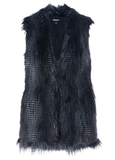 For effortlessly cool downtown layering, I'm looking for a longer faux fur vest, like this  DKNY Sleeveless Faux Fur Jacket  ($404) that I can throw on in my usually hurried Saturday morning rush to brunch — and still look chic. — Hannah Weil, associate editor