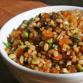 Vegan Wheat Berry Pilaf Recipe