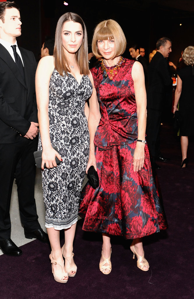 Bee Shaffer and Anna Wintour