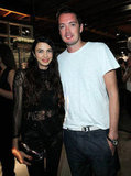 Shiva Rose and Marcus Wainwright