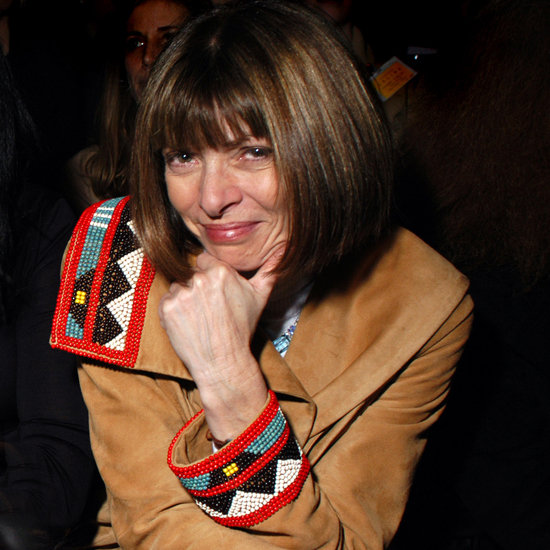 Anna Wintour Smiling (Pictures)