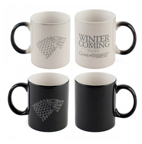 Game of Thrones Winter Is Coming Heat-Sensitive Mug ($18)