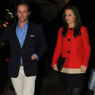 Pippa Middleton at the Club With a New Guy | Pictures