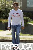 Ashton Kutcher stepped out in Sydney.