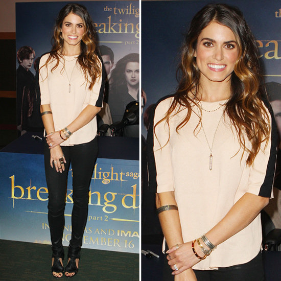 Learn how to rock a nude and black color palette à la Nikki Reed.