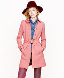 We can't get enough of this pretty in pink J.Crew Double-Cloth Slim Trench ($280). We'd wear it with slouchy jeans, a knit sweater, and pumps for a casual yet chic girl-meets-boy feel.