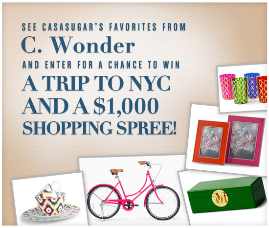 Enter For a Chance to Win a Trip to NYC and $1,000 at C. Wonder!