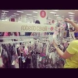 The women went wild when the Roberto Cavalli for Target line went on sale at Westfield Bondi Junction.