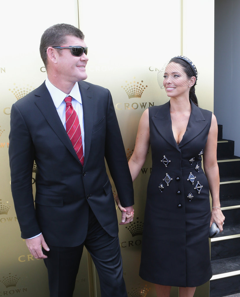 James and Erica Packer.
