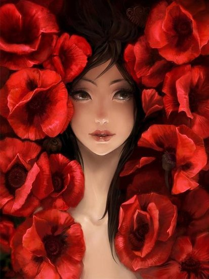the poppy girl