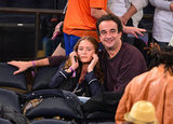 Mary-Kate Olsen and Olivier Sarkozy attended a game together.