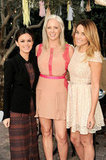 Rachel Bilson and Lauren Conrad got together with Amy Nadine.