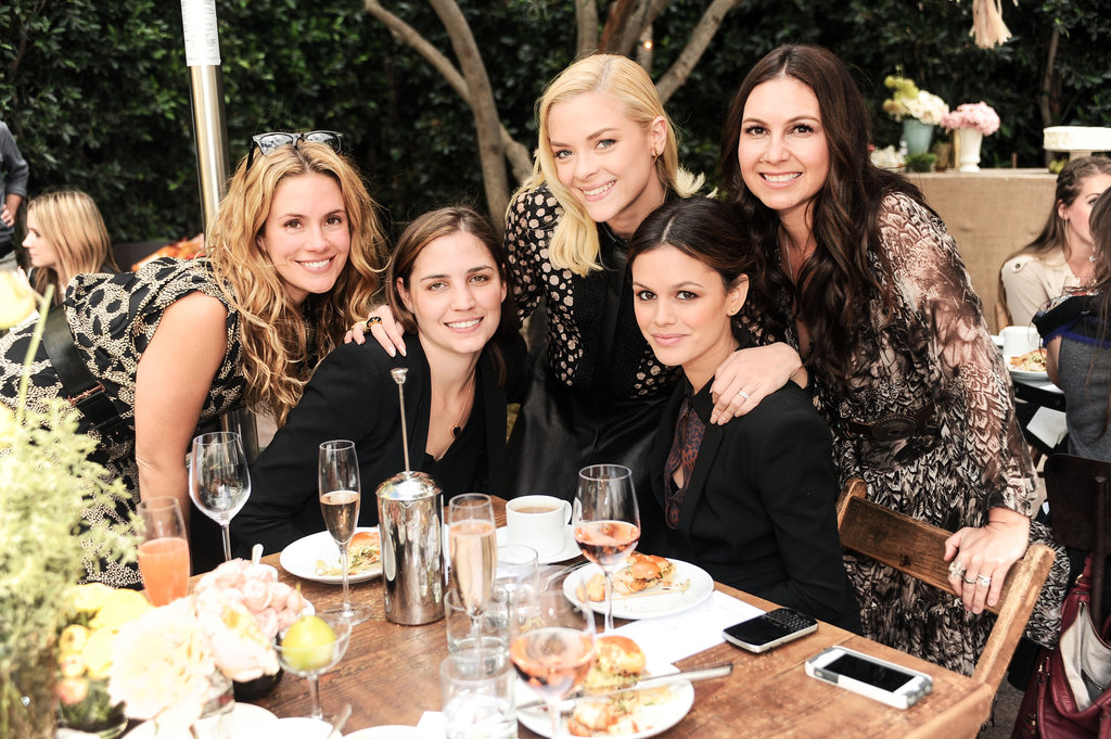 Cacee Cobb, Ilaria Urbinati, Jaime King, Rachel Bilson, and Nicole Chavez got together to celebrate ShoeMint.